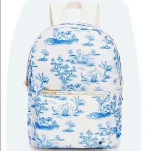 STATE Blue Femme Farm Toile MINI LORIMER BACKPACK